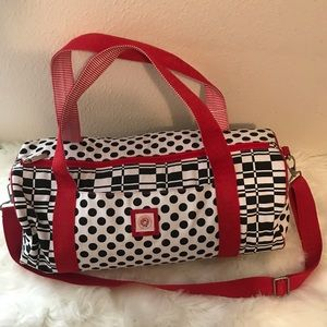 Little miss matched large geometric tote Like New